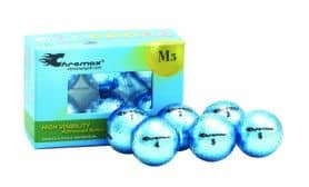 Metallic Blue Golf Balls