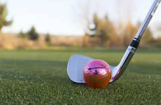 Pink Golf Balls Breast Cancer Awareness