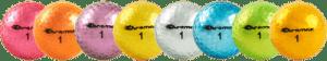 Metallic Gold Golf Balls