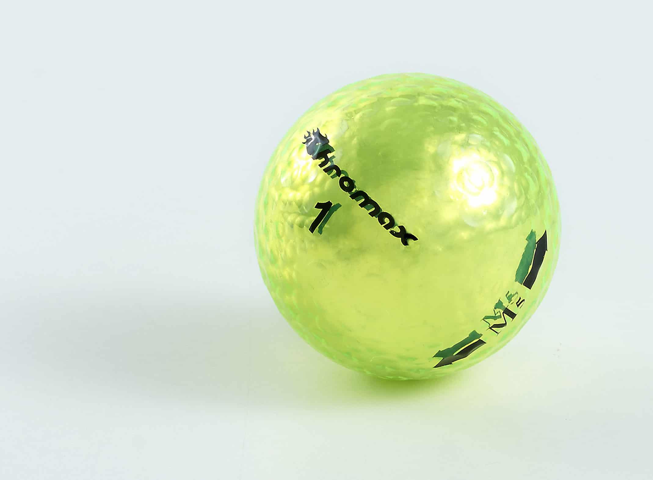 Neon Green Golf Balls