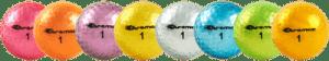 Silver Golf Balls