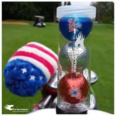 Buy Colored Golf Balls Red, Yellow, Blue, Silver, Gold