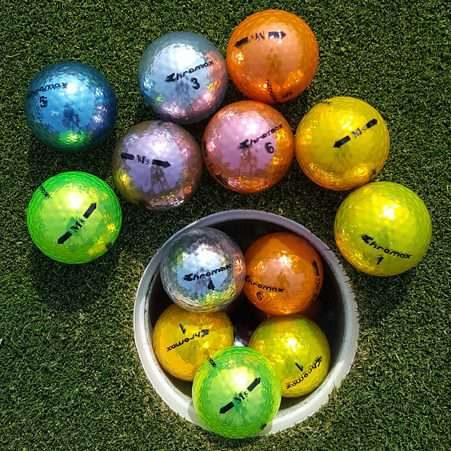M5 Colored Golf Balls